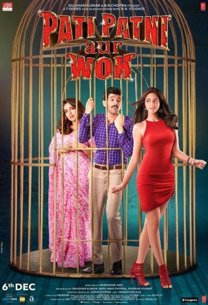 New poster of Pati Patni Aur Woh