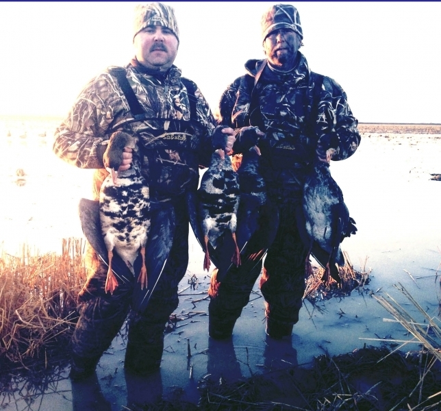 Missouri specklebelly hunting trip