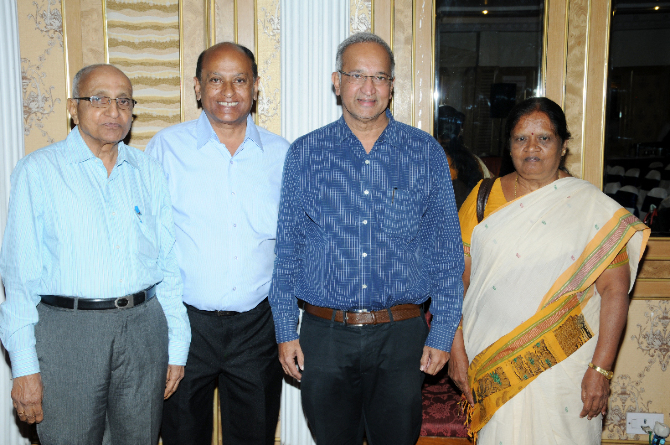 Dr Ulhas K.Karanth with CEES Board of Trustees
