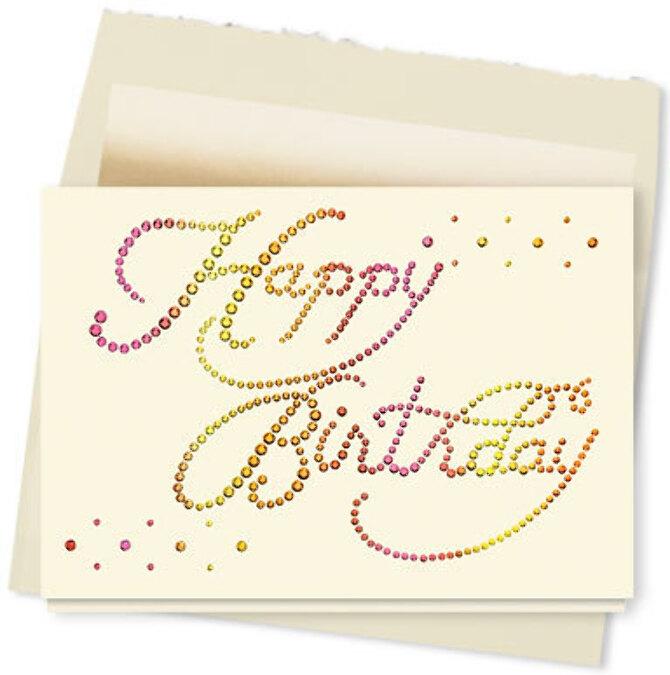 E Birthday Cards