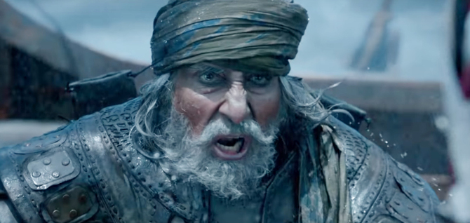 Amitabh Bachchan starrer Thugs Of Hindostan Movie Stills  18