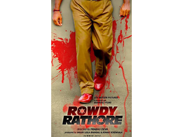 Akshay Kumar in Rowdy Rathore Film Poster