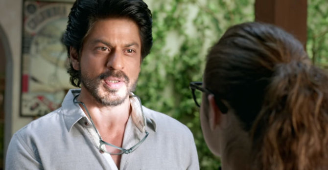 Shah Rukh Khan Dear Zindagi Movie Photo