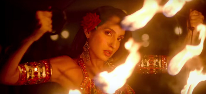 Nora Fatehi Starrer Batla House Movie O Saki Saki Song  12
