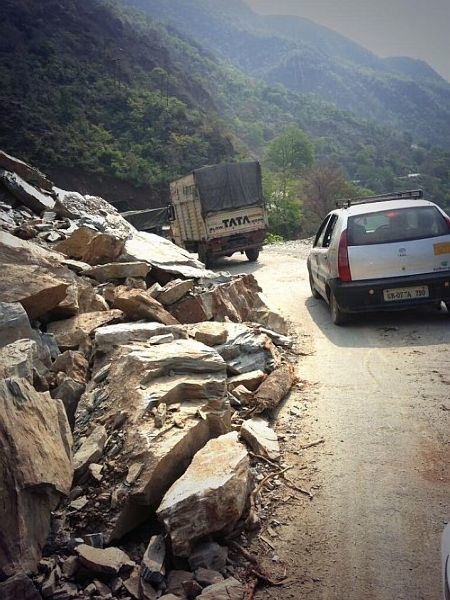 Road Disaster In Uttarakhand Photo