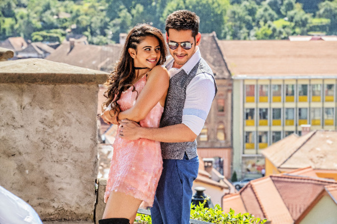 Rakul Preet Singh   Mahesh Babu Spyder Movie Stills  1