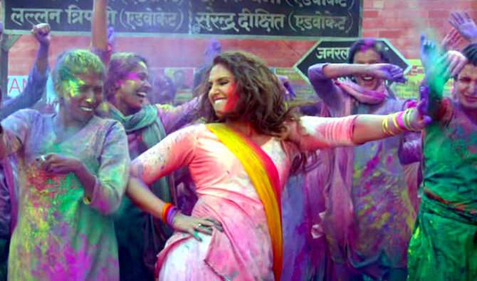 Huma Qureshi  Akshay Kumar Jolly LLB 2 Go Pagal Song Stills  5