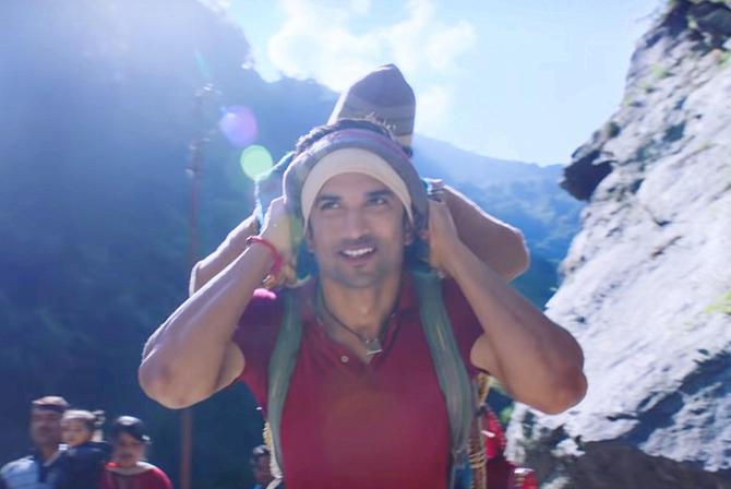 Sushant Singh Rajput starrer Kedarnath Hindi Movie Photos  15