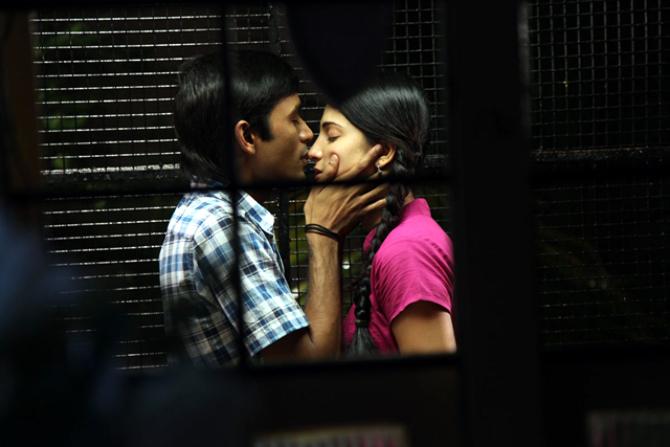 Dhanush Shruti Hassan 3 Tamil Film Images