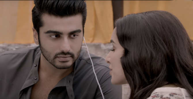 Shraddha Kapoor  Arjun Kapoor Half Girlfriend Film Stills  13