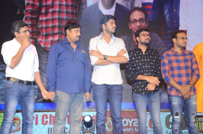 Jamba Lakidi Pamba Movie Pre Release Event  2