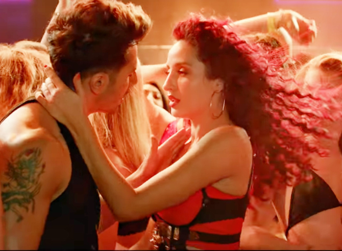 Nora Fatehi   Varun Dhawan starrer Street Dancer 3D Movie Song Garmi Pic  6