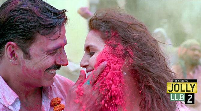 Huma Qureshi and Akshay Kumar Jolly LLB 2 Movie Stills  5