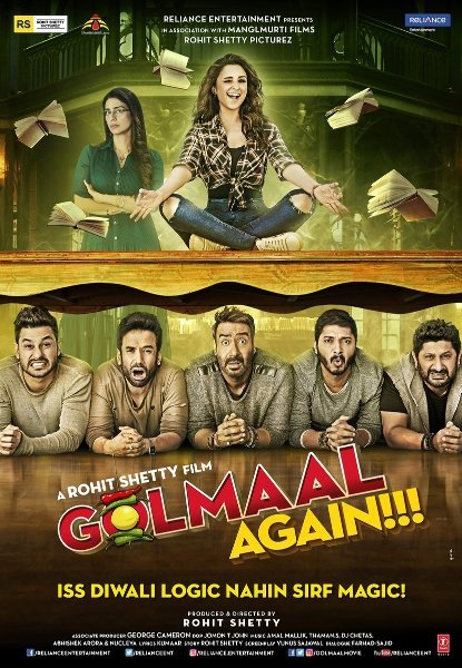 Golmaal Again Movie Poster  2