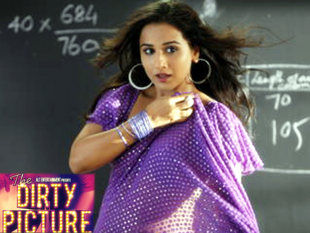 Vidya Balan Hot In Saree The Dirty Picture