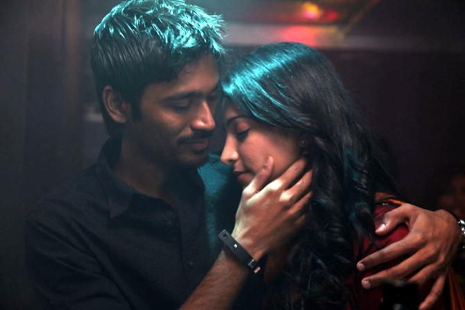 Dhanush Shruti Hassan 3 Tamil Movie Images