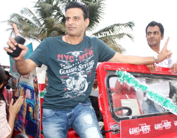 Manoj Bajpai at GANGS OF WASSEYPUR Music Launch Photo