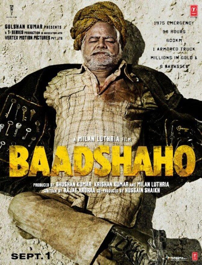 Sanjay Mishra Baadshaho Movie Poster