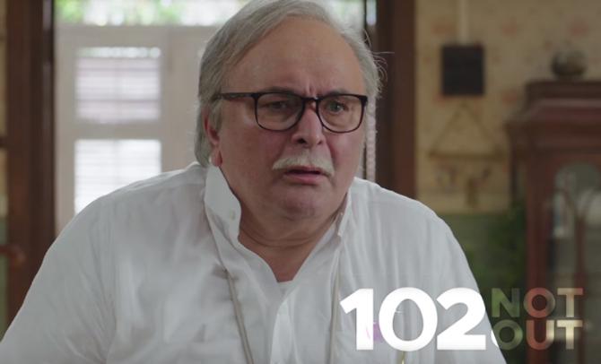 Rishi Kapoor 102 Not Out Movie Stills  2