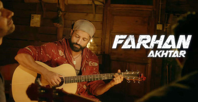 Farhan Akhtar ROCK ON 2 Movie Image