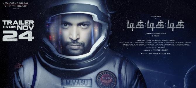 Tik Tik Tik Tamil Movie Poster  3