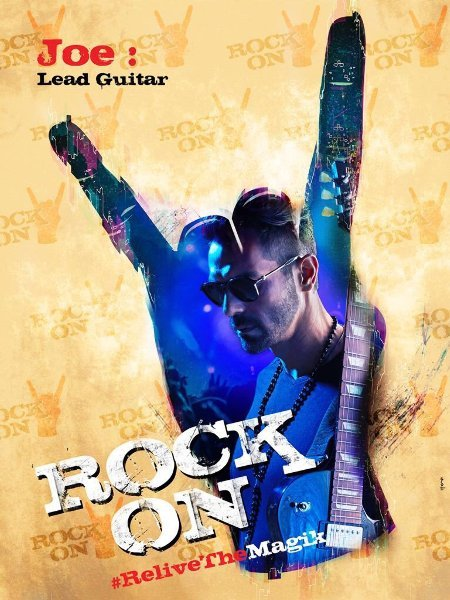 Arjun Rampal ROCK ON 2 Movie  Poster