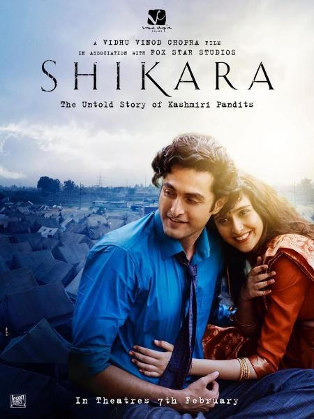 Shikara movie starring Aadil Khan and Sadia