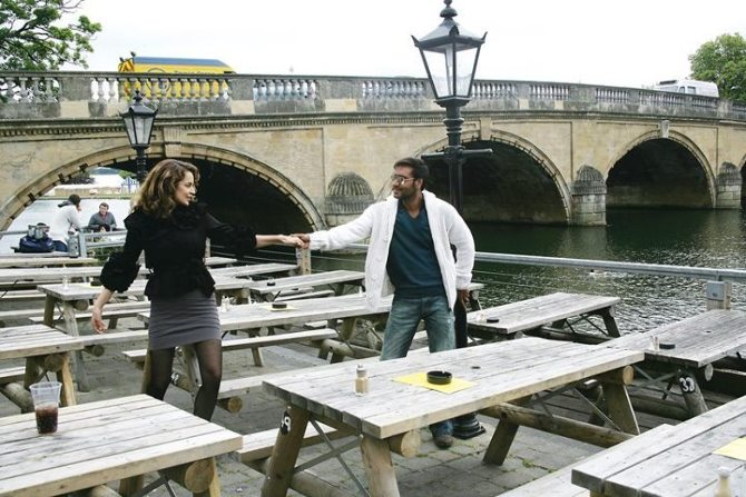 Ajay Devgn Kangna Ranaut Tezz Film Pics