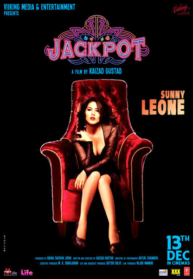 Sunny Leone Latest film Jackpot Poster