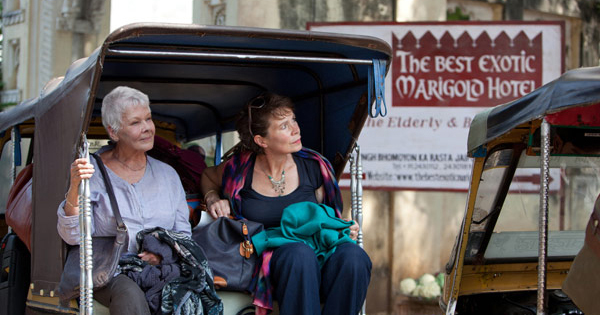 Judi Dench The Best Exotic Marigold Hotel Movie Pic