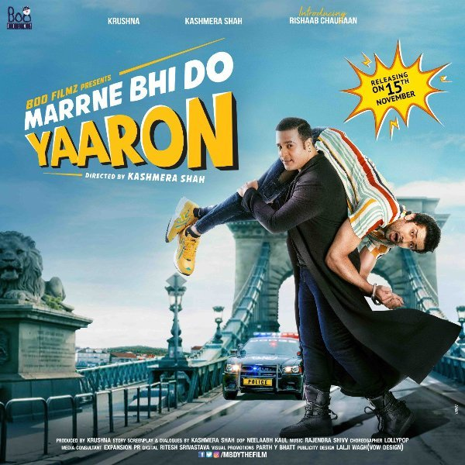 Marrne Bhi Do Yaaron stars Krushna Abhishek  Kashmera Shah and introducing Rishaab Chauhaan