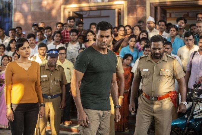 Chakra Tamil Movie Photos  3