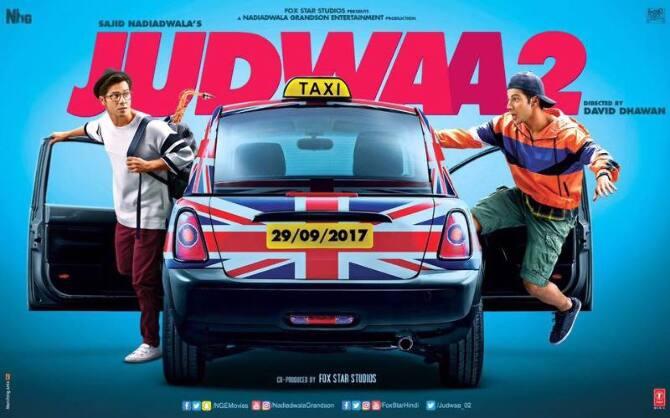 First Poster of Varun Dhawan Starrer Judwaa 2