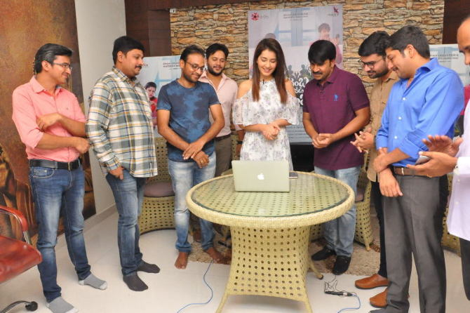 Jamba Lakidi Pamba Movie Lyrical Video song Launch by Raasi Khanna  21