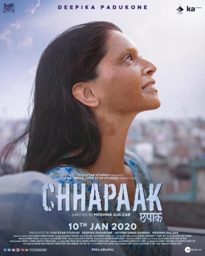 First look posters Chhapaak stars Deepika Padukone and Vikrant Massey