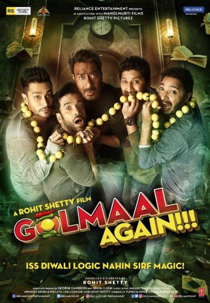 Golmaal Again Movie Poster  1
