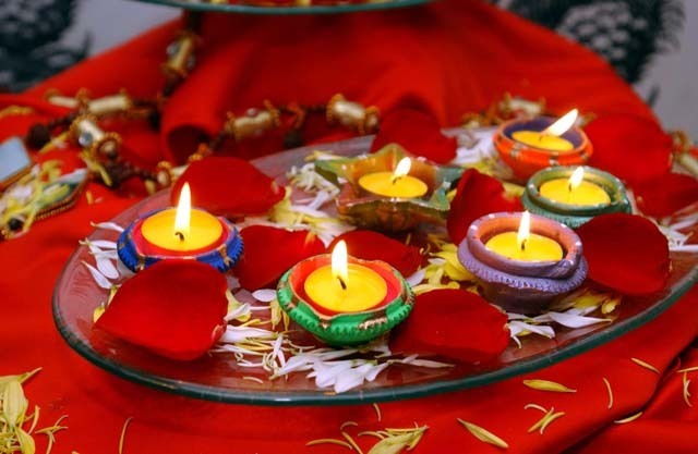 Diya Stand Designs : Diwali diya decoration
