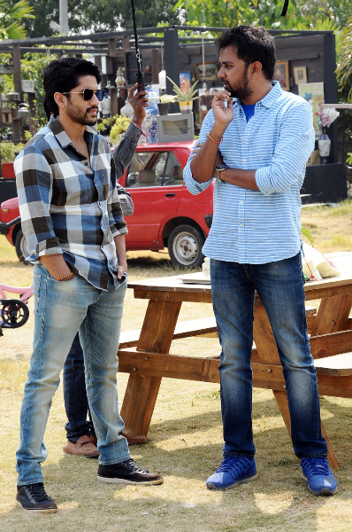 Savyasachi Movie Working Stills  1