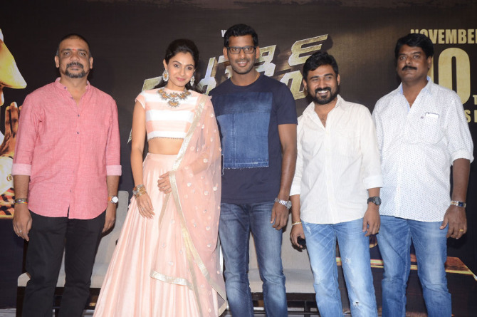 Detective Movie Press meet  16