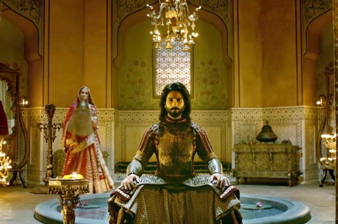 Shahid Kapoor PADMAVATI Movie Stills  3