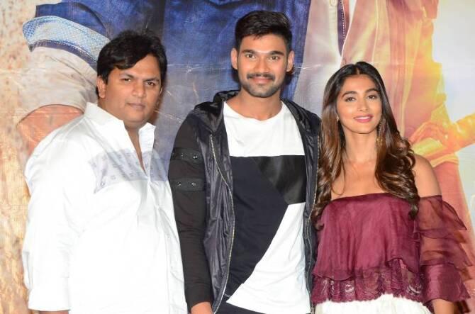 Saakshyam Telugu Movie Press Meet  5