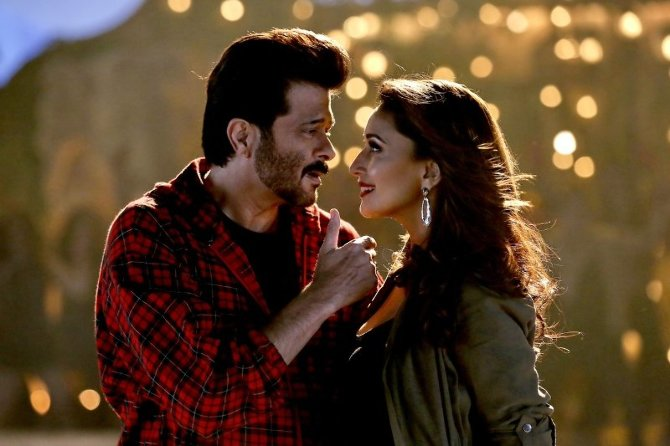 Madhuri Dixit   Anil Kapoor starrer Total Dhamaal Movie Song Pic