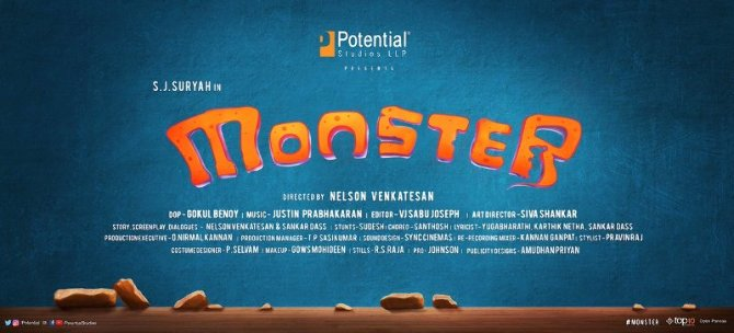 Monster Tamil Movie Poster  2