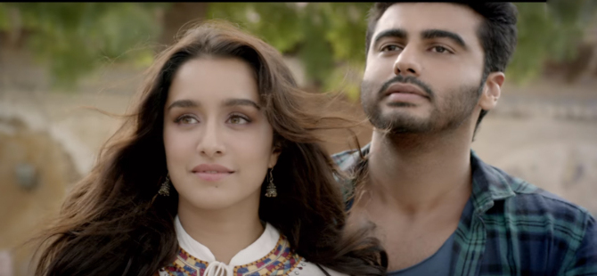 Shraddha Kapoor  Arjun Kapoor Half Girlfriend Film Stills  11