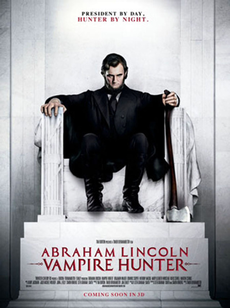 Benjamin Walker Abraham Lincoln Vampire Hunter Movie Poster