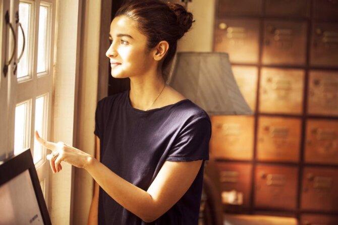 Alia Bhatt Dear Zindagi Movie Latest Pic