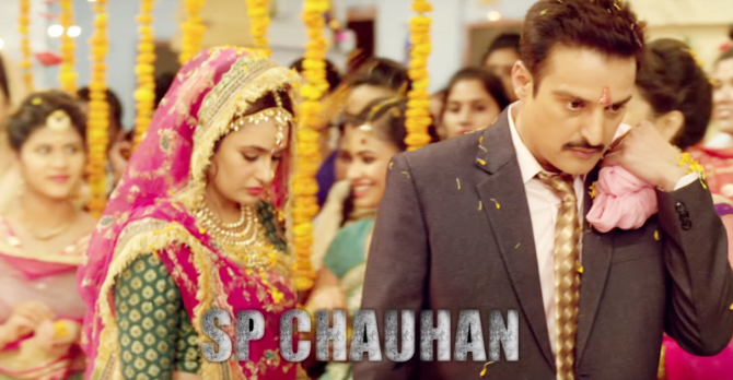 Yuvika Chaudhry    Jimmy Sheirgill starrer S P Chauhan Movie Photos  10