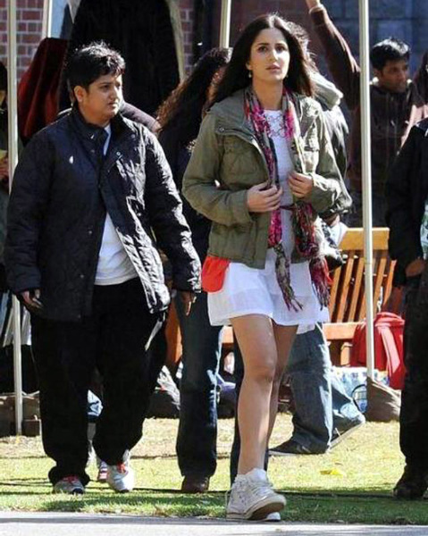 Katrina Kaif Ek Tha Tiger on Location Photo