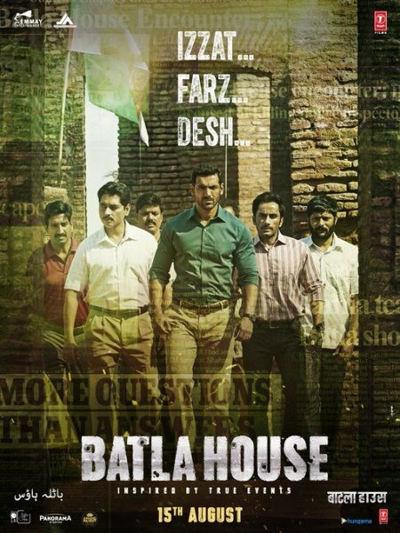 John Abraham movie BATLA House poster