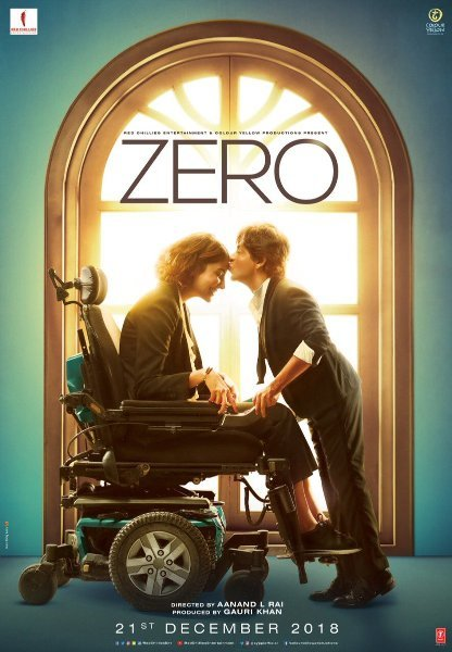Anushka Sharma  Shah Rukh Khan Zero Movie Poster